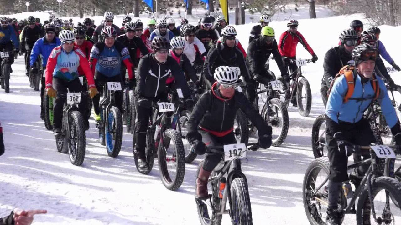 Edmonton Fatbike Fest - a part of the Silver Skate Festival